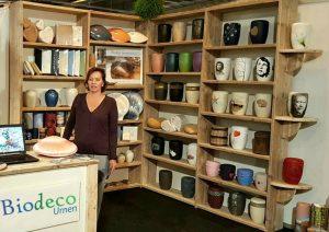 winkel gespecialiseerd in biologisch afbreekbare urnen